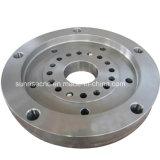 Placa de acero de la máquina de perforación