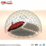 Pequena Tenda Geodésico Dome com Cobertura em PVC transparente para venda