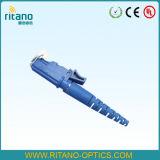 Conector óptico a una cara de fibra de E2000APC SM con RoHS obediente