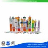 装飾的な薬剤のスキンケアの毛カラークリーム色の包装の空の折りたたみアルミニウム管