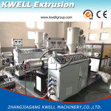 PVC/PE/PP определяют двойные производственную линию трубы из волнистого листового металла стены/машину штрангя-прессовани