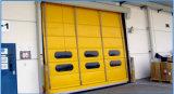 Stapelnde Tür-automatische Walzen-Blendenverschluss-Hochgeschwindigkeitstür/Hochgeschwindigkeitsfalz-Tür