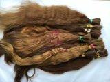 Volume intato do cabelo das cutículas naturais não processadas de Remy do Virgin