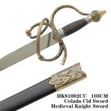 スペインの剣の中世剣のヨーロッパの剣103cm HK81002cu
