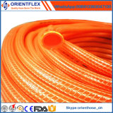 Le tricot flexible en PVC tressé en fibre de jardin