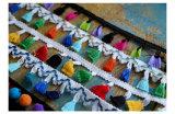 도매 의복 부속 공상 다채로운 POM POM 프린지 레이스