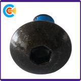 Kohlenstoffstahl-Wannen-Kopf-Hex Inbusschraube-Anti-Lose Schrauben