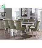 Coastlink Vegas tabela de jantar oval da extensão de 9 partes ajustada para 8 (cadeiras do Parson)