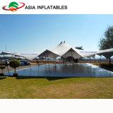Эластичные шатры венчания простирания ткани, шатры партии масленицы для больших шатров пляжа