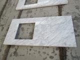 Carrara blanc / comptoir en marbre de haute qualité