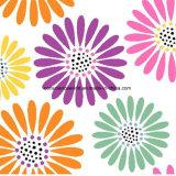 100%Polyester Blumen Pigment&Disperse druckten Gewebe für Bettwäsche-Set
