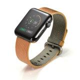 38mm 42mm nuevos colores de tejido de Nylon Correa de reloj para Apple ver