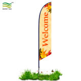 Качество под пером на пляже-слезники баннер флаг (A-NF04F06033)