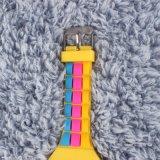 LEIDENE van het Horloge van het silicium Riem van de Materiële Kleur van het Scherm de Veelvoudige voor Dames