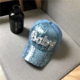 Jóias de algodão branco azul Kids Funny Hat com logotipo Customed