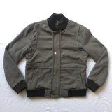 Personalizar el invierno de los hombres Casual abrigo de lana con mangas largas