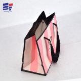 La promoción de pequeño tamaño, bolsa de regalo papel de anillo de embalaje