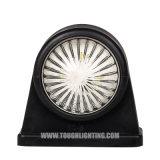 Luz automática de doble cara PC LED nominal de la luz de marcador lateral