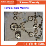 50W 100Wのファイバーレーザーのカッターの彫刻家の金の宝石類の切断の彫版機械