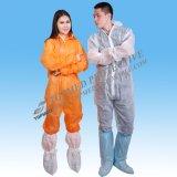De façon générale gris de vêtements de travail d'une seule pièce non-tissés de pp pour des ouvriers