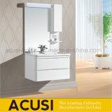 Gabinetes modernos da vaidade do banheiro do cair de Wll da madeira compensada da mobília (ACS1-L18)