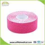 Mayorista de elástico de algodón Deporte Kinesiología Terapia con cinta para el cuidado Healthe Deportes
