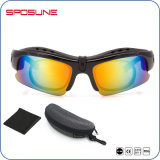 人UV400はサングラスを反スクラッチするカスタムロゴのサングラスを分極した