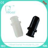 Conector colorido dental disponible de la jeringuilla