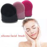 Escova de Limpeza Facial impermeável de Silicone Limpeza de pele Scrub Recarregável Escova de Limpeza profunda
