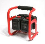 PROzwei entfernbares Flutlicht der Batterie-10W des Satz-750lm