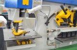 Corte de perfuração da folha de metal do tipo do Sc Q35y-12 entalhando a máquina, Ironworker