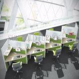 卸し売りオフィス用家具L形の現代ワークステーション(SZ-WS155)