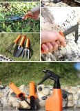 5 en 1 conjunto de herramienta de jardín de herramientas de la mano de la maleta que cultivan un huerto