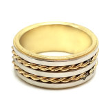 El hombre de acero inoxidable de la moda de joyería Anillo de Oro de la boda