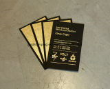 Papel de traspaso térmico para las tarjetas de visita