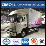La nuova Cina Isuzu Kv600 4X2 Van Truck refrigerato 120HP da vendere
