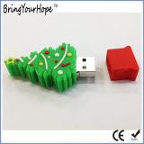 Formato de árvore de natal disco flash USB (XH-USB-025)