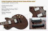2017 Körperzebrawood-neuer Großhandelsglanz-elektrische Gitarre
