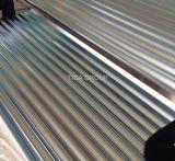 Chapa de aço de Aluzinc da onda ondulada da telhadura do metal do Galvalume para o telhado