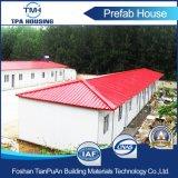 Дом этажа крыши одного 4 наклонов Prefab для пользы фабрики