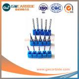 HRC45-68 2.0X6X50 fin de carbure de tungstène Mills