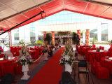 イベントのためのカスタマイズされた明確なスパンのアルミニウム屋外の結婚披露宴のテント