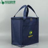 Hot Sale Promotion Sac thermique avec Pocket refroidisseur de gros sac pour les aliments surgelés