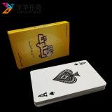 Impermeable tarjetas que juegan plásticas impresas la mejor aduana del póker el 100%