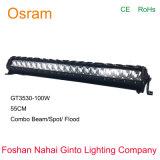 Osram 55cm IP68 LEDの点の洪水の車のためのコンボのライトバー