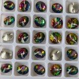 Tecla de cristal da cor média de Vitrail para acessórios da jóia
