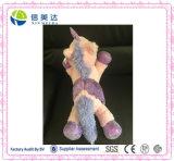 Großer rosafarbener Plüsch angefülltes Einhorn-Spielzeug