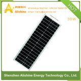éclairage extérieur de 30W DEL de jardin solaire de réverbère avec 3 ans de garantie