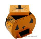 Rectángulo de regalo de papel para el conjunto de los productos de Hallowmas/rectángulo de papel de la cartulina