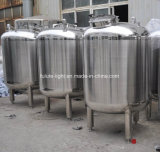 Acero inoxidable de grado alimenticio tanque de almacenamiento sanitarias